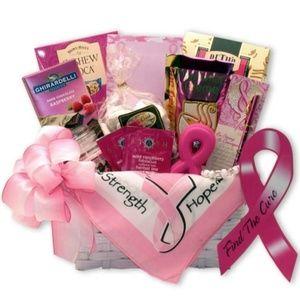 Find A Cure Gift Basket